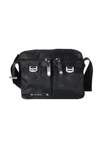 EXTREME black Extreme Tactical Sling Bag Lightweight Nylon Crossbody Black iPad 2 3F189ACF72B701GS_1