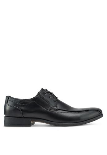 Bata black faux Leather Business Shoes EA57DSH3DB84DBGS_1