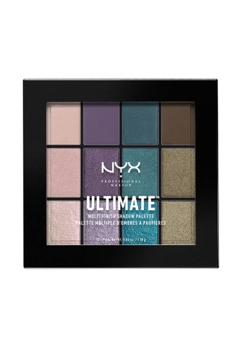 NYX Professional Makeup multi NYX Professional Makeup Ultimate Multi-Finish Shadow Palette - SMOKE SCREEN 7EA80BEFA986DFGS_1