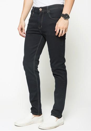 Jual 2nd Red 2Nd RED Celana Jeans Slim Fit Retro Black