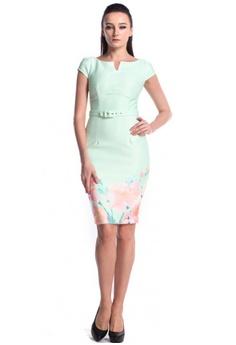 400d49c60c99 DreamTales Wardrobe green Floral Pencil Dress F7663AA5B7BDFBGS_1