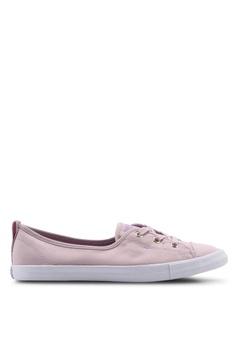 2f114454e Converse purple Chuck Taylor All Star Ballet Lace Summer Palms Slip Ons  7D9CASH37A7ED9GS 1