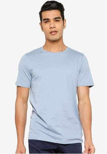 Jack & Jones blue Organic Basic Crew Neck Tee C2A9EAAF2C4472GS_1