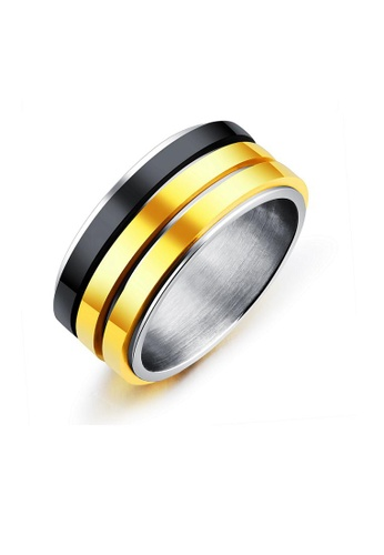 ADORA multi Stainless Steel Multicolor Ring CAF91ACACD5735GS_1