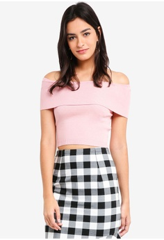 d16e8936 MDSCollections pink Overlay Cropped Top In Pink 09C91AAF4C8826GS_1