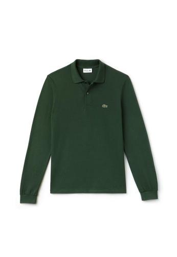 LACOSTE green Men's Long-sleeve Lacoste L.12.12 Polo Shirt E007FAAC40DA8CGS_1