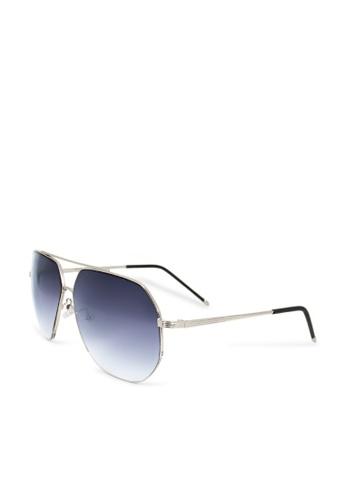 ASLLY blue and multi Coastline│Pilot blue sunglasses 587A4GL1E8E647GS_1