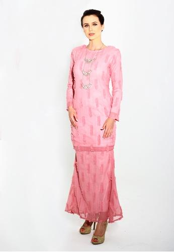 Adam.R pink Kurung Modern Alisya 5DA9AAA9AC223CGS_1