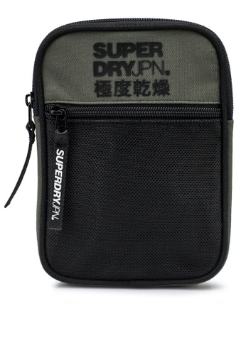 Superdry green Sport Pouch - Sportstyle Code 943A1AC361FF2FGS_1