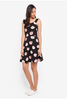040d32e8f3e 54% OFF Dorothy Perkins Black Rose Ruffle Sundress S  56.90 NOW S  25.90  Sizes 12