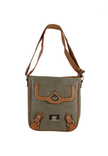 DNJ grey Casual Styling Sling Bag DN487AC02RDLPH_1