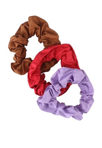 Rubi red and purple 3-Pack Scrunchies 60C11AC5ED6848GS_1