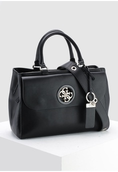 57d7ed5a3d6635 57% OFF Guess Cool City Girlfriend Satchel Bag S  169.00 NOW S  71.90 Sizes  One Size