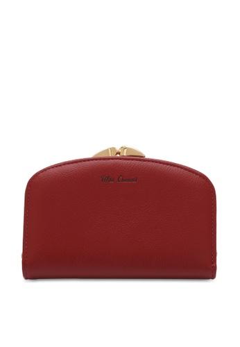 Wild Channel red Women's Bi Fold Wallet 90DC7ACB4FD5D1GS_1