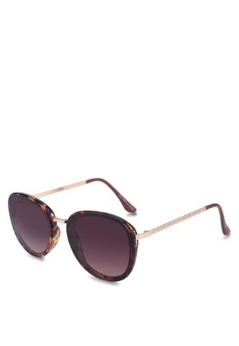 Rubi multi Kinsley Round Sunglasses 15DB0GL42C62BAGS_1