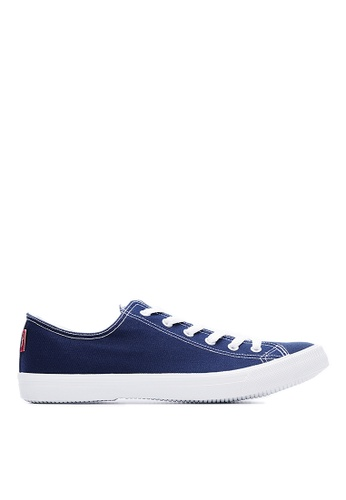 Life8 blue Breathable Canvas Casual Shoes-09262-Blue LI286SH84WCXMY_1