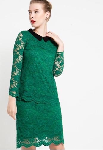 EPRISE green Blouse EP457AA83WXWID_1