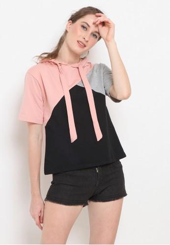 Cocolulu pink Hermione Hoodie 27C0EAAB4E61E5GS_1