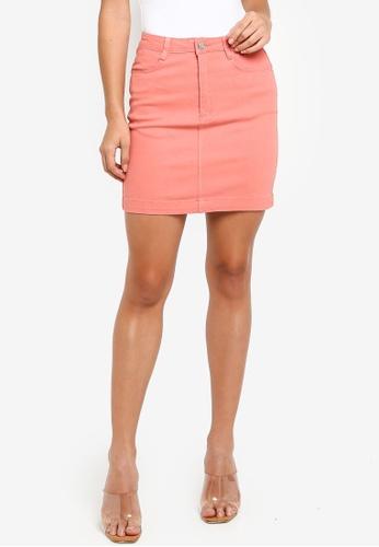 16714eec4e Buy MISSGUIDED Superstretch Denim Mini Skirt Online on ZALORA Singapore