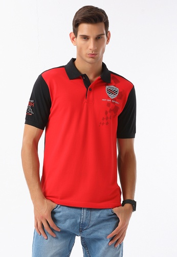 acf9f722c4202 Kappa red Men s Racing Collection Regular Fit Polo Shirt  71527AA257C1B4GS 1. CLICK TO ZOOM