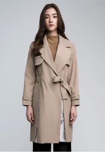 綁帶風衣, 服飾esprit台灣官網, 夾克 & 大衣