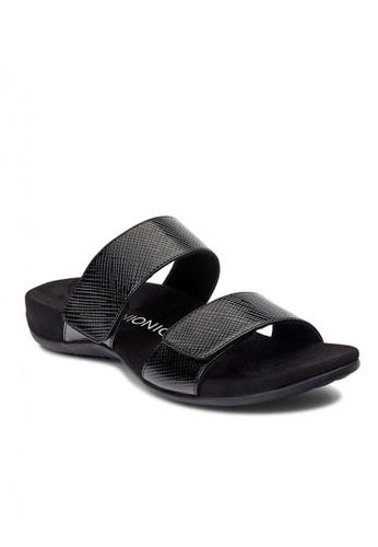 Vionic black Rest Samoa Slide Women's Sandals 775ADSH567B73CGS_1