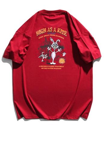 Twenty Eight Shoes Cartoon Printed Short T-shirt HH1153 6EA00AA84DBBBCGS_1