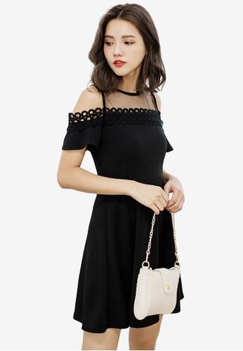 fbf1a5db986c Shop Sesura Elegant Affair Mesh Dress Online on ZALORA Philippines