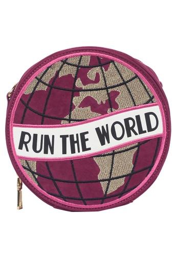 Dazz purple Run the World Bag - Purple 86813ACBB8E9EFGS_1