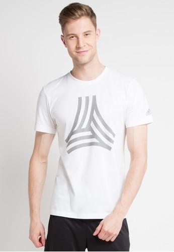 adidas white adidas tango logo tee 0F398AAD70A8B9GS_1