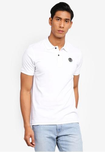 OVS 白色 Basic POLO衫 00AE0AAB2979BFGS_1