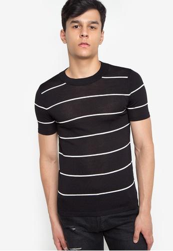 55728f34c75e0 Shop Chase Fashion Jones Stripe Slim Knit T-Shirt Online on ZALORA ...