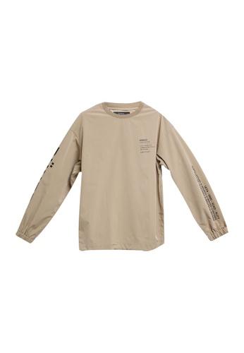 RAGEBLUE brown Woven T-Shirt 3AFF6AA366492EGS_1