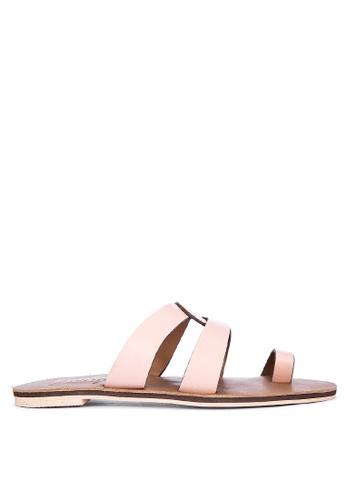 Janylin beige Slide Sandals 64E54SHA81F639GS_1