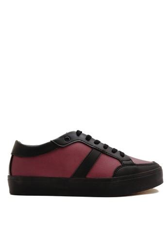 CDE black Nero Men Sneaker - Black Maroon 3A629SH5338B05GS_1
