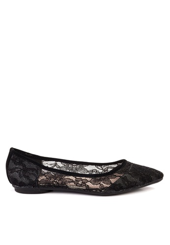 Twenty Eight Shoes black Lace Ballerinas VL102810 ABBA9SH8690E04GS_1