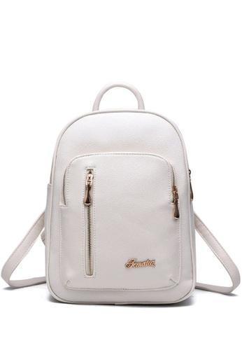 TCWK white Ladies Backpack TC258AC42IYFMY_1