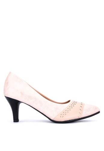 Huxley white Haak Heels 91ED2SH8686411GS_1