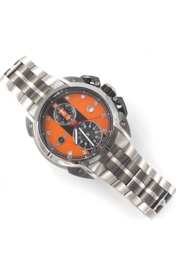 Mini orange Chronograph watch MI057AC24DDBHK_1