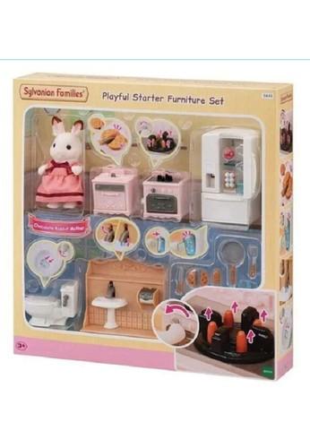 Sylvanian Families multi Sylvanian Families Playful Starter Furniture 17C8DTH00D40D6GS_1