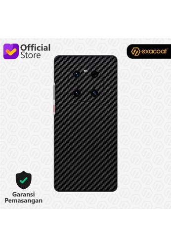 Exacoat Huawei Mate 40 Pro Skins Carbon Fiber Black - Cut Only 6A797ES72C0B3BGS_1