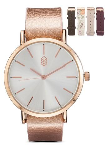 Ederracien 經典圓框手錶, 錶類, 女esprit香港分店地址裝手錶