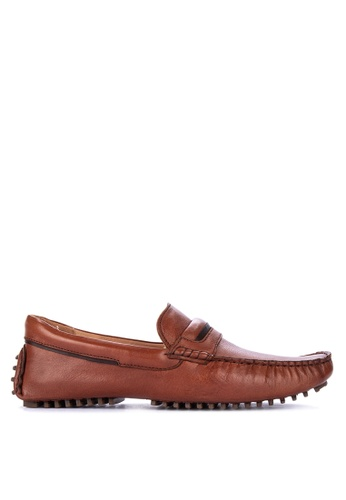 Alberto brown Genuine Comfort Loafers 135D6SHA3E7C7EGS_1