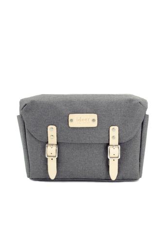 ideer grey Skylar Grey 190 - Camera Messenger Cross Bag 60F1FAC5322C78GS_1