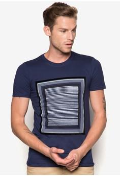 Box Print Short Sleeve T-Shirt