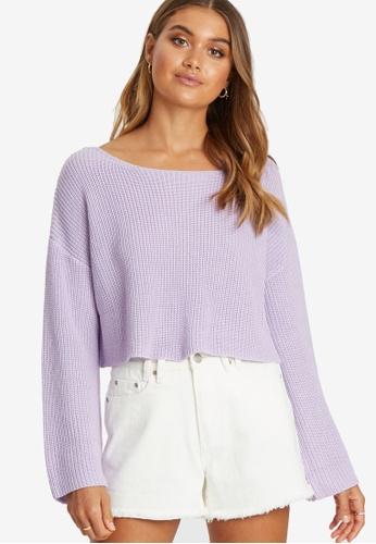 Calli purple Jordan Knit Jumper 48EBCAA0B973BAGS_1