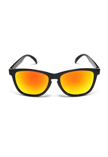 2i's to eyes black and orange 2i's Sunglasses - Jason 2I983AC20ZUTHK_1