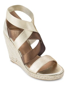 Espadrille Chome Wedges
