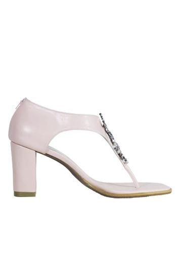 Jacque pink Zoey Pink Heels JA262SH33PQOMY_1