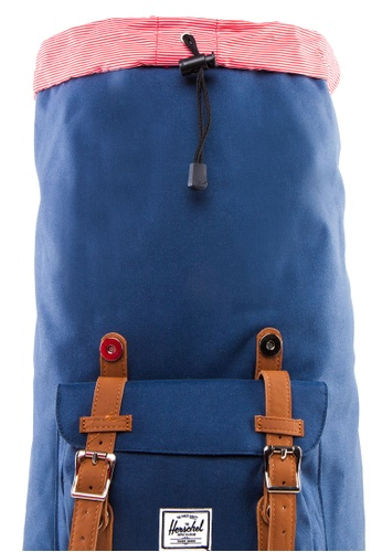 buy herschel little america mid volume backpack online on. Black Bedroom Furniture Sets. Home Design Ideas